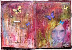 Au crepuscule by Anne, Bulles dorées, via Flickr