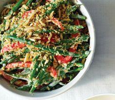 Red pepper & green bean casserole with almonds recipe - Walmart Live Better magazine