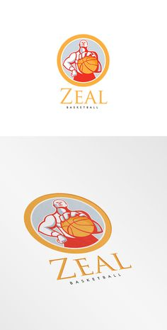 Zeal Basketball Logo by patrimonio on Creative Market