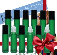Essential Oil Bottles for Roll On Topical Application. When you pick the Green E4U Glass Roller Bottle you have the ideal 10ml refillable perfume bottles. Easy to fill Glass bottles for Aromatherapy. Choose the professional choice today!