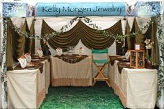 What types of items do you sell most at craft shows?  Read the make-over suggestions for this booth.