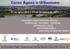 Agenda Cultural do ALTO TIETÊ: CURSO GRATUITO: ÁGUAS E URBANISMO (Presencial e On...