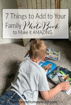 Make an amazing family photo book for your family. Included are 7 unique things that I add to our book to make it extra special. Photo books create a legacy for your children. Source by kavstavern Look ideas Family Photo Album, Family Photos, Family Family, Family Posing, Family Portraits, Shutterfly Photo Book, Blurb Photo Book, Best Photo Books, Family Yearbook
