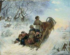 """Riding A Sleigh"" | Ivan Pelevin"