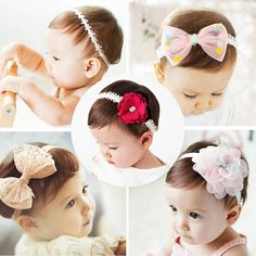 2018 korean Baby girls headband newborn fabric flowers for headbands DIY  jewelry photographed photos Children hair accessories. ad9ac2a3c40a