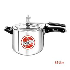 Buy 6.5 Litre Regular Aluminium Inner Lid Pressure Cooker with 5 Year warranty at affordable prices.