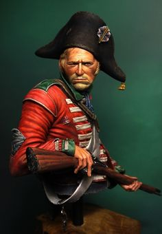 Hi to all. The Bust is SK Miniatures 200mm.sculpted by CARL REID.All is painted using acrylics.