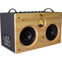 Ashdown B-Social Bass Amplification System, Wood Front