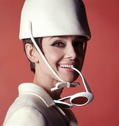 """Audrey Hepburn. A publicity still for director William Wyler's """"How To Steal A Million""""."""