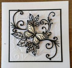 (Pin#1: Flourishes... Pin+: Mono: B&W; Butterflies...SU).