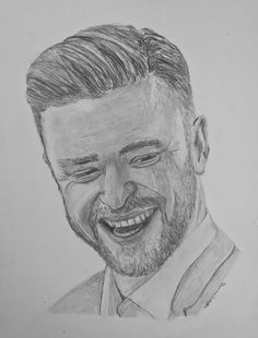 TV and Movie Actor. Former Member of the Boy Band NSYNC. Graphite Drawings, Justin Timberlake, Artwork Design, Off Colour, Sell Your Art, Celebrity Weddings, Framed Art Prints, Boy Bands