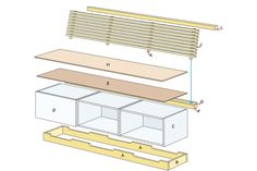 how to make a bench with shoe storage Home Improvement Projects, Bench With Shoe Storage, Wood Shop, Diy Furniture, Making A Bench, Home Improvement, Palette Projects, Home Decor, Creative Home