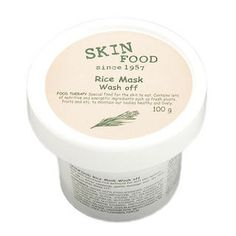 Buy 'Skinfood – Rice Mask Wash Off' with Free International Shipping at YesStyle.com. Browse and shop for thousands of Asian fashion items from South Korea and more!