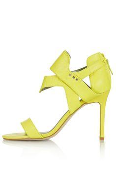 SENSO single sole cut out sandals