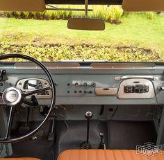 Our fresh nut & bolt restored 1971 Toyota LandCruiser FJ43 Grey. See related pics for this car #fjco1971grey and hi-res shots at www.fj.co - this FJ will be sold at the Bonhams Quail Lodge auction on August 13th/14th. Bidding info at www.bonhams.com ------------------------------------------------------------#fjrestoration #fj43 #4x4 #fjcompany #fj #bonhams