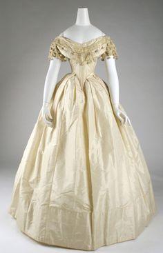 Dress 1860 The Metropolitan Museum of Art