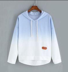 Ombré, light blue sweater