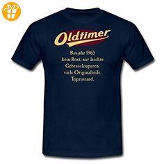 50. Geburtstag Oldtimer Sprüche RAHMENLOS® Männer T-Shirt von Spreadshirt®, 3XL, Navy - Shirts zum 50 geburtstag (*Partner-Link)