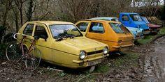 Cult Cars in Denbigh's Reliant Robin Graveyard