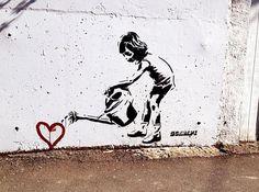 Explore i y e r s photos on Flickr. i y e r s has uploaded 9571 photos to Flickr. Banksy Graffiti, Street Art Banksy, Images Graffiti, Arte Banksy, Banksy Artwork, Street Art Utopia, Graffiti Quotes, Graffiti Artists, Graffiti Lettering