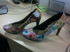 Princess Sparkles Disney Princess high heels