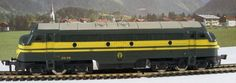 Online veilinghuis Catawiki: Fleischmann H0 - 1385 - Multifunctionele Diesel locomotief BR 202 van de NMBS/SNCB
