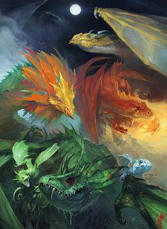 Vale of Dragons - Luke Mancini