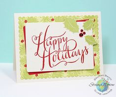 Mama Mo Stamps: CASEing CASEing Christmas