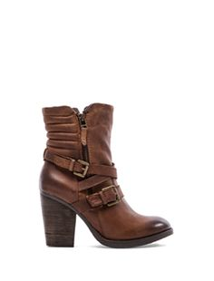 Steve Madden Raleighh Boot in Cognac Leather