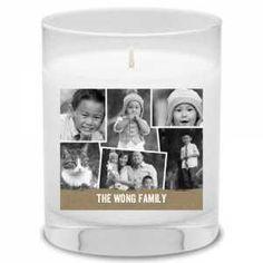 Custom Photo Candles