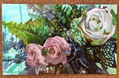 Spring Flower painting by Kate Mullin Williford. www.katemullinart.com  Art.
