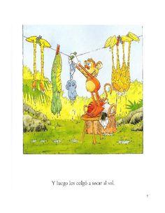 Los duendes y hadas de Ludi: La selva loca Diagram, Map, Pandora, Painting, Rainforest Animals, Elves, Fairies, Reading, Books