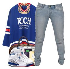 """""""42515"""" by polyvoreitems5 ❤ liked on Polyvore featuring Joyrich, Michael Kors, Louis Vuitton, Twelve South, Chanel and Rampage"""