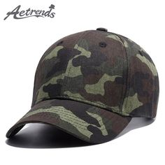 dfd4afe40e6 2017 New Summer Camouflage Design Hats for Men Branded Baseball Caps  Snapback Hat Features  Style  Baseball Cap Material  Cotton Size