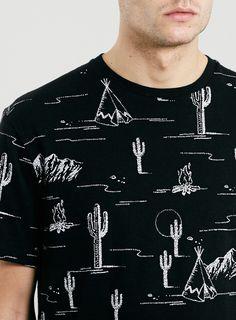 LTD LAUREL CANYON DESERT SCENE T-SHIRT - Men's T-Shirts & Vests - Clothing