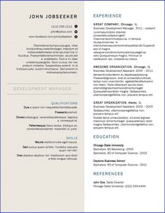 download resume formate