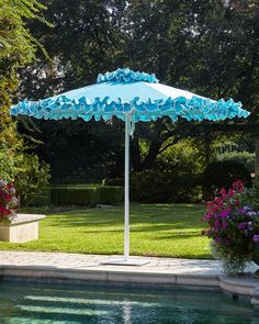 Allen Roth 11 Ft Offset Tilt Umbrella With Solar Led Lights Outdoor Living Umbrellas Sunshades Pinterest