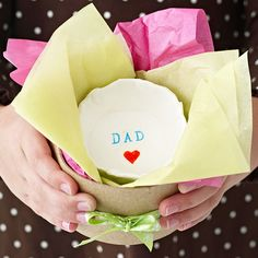 Personalized Dish for Dad - DIY - BHG