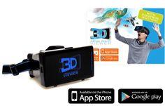 Beleef de ongelooflijke wereld van 3D met spectaculaire Virtual Reality games, films en 360°-ervaringen.  En dat heel gemakkelijk met uw eigen smartphone in combinatie met de revolutionaire Virtual Reality Bril.  De 3D VR bril heeft een maximale breedte van 16,5 cm en een maximale hoogte van 8,5 cm.  De VR-bril is geschikt voor de meeste smartphones met een schermgrootte van ca. 4 t/m 6 inch (diagonaal).