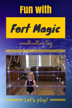 Fort Magic Construction Toy {GIVEAWAY}