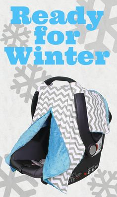 Is your little one ready for the winter weather? http://www.amazon.com/Peekaboo-Kids-Such-Protects-Newborns/dp/B01598LFR4/ref=sr_1_16?s=baby-products&ie=UTF8&qid=1447003556&sr=1-16&keywords=carseat+canopy Carseat Covers add a barrier between the cold and your newborn. The Kids N' Such Peekaboo Opening™ also lets you sneak a peek without completely lifting up the front, which could wake your baby!