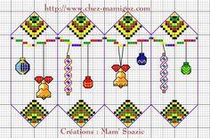 Nouvelles grilles de fuseaux pour vos décorations de Noël - Mamigoz