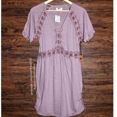 Free People Dresses - FREE PEOPLE Mini Dress Patterned Bohemian Classic
