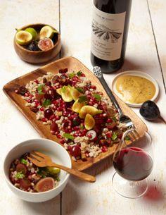 Tu B'shevat Shivat HaMinim Salad.