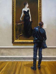 "Daily+Paintworks+-+""In+The+Black""+-+Original+Fine+Art+for+Sale+-+©+Karin+Jurick"
