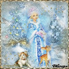 Snow Princess/ animation and glitter   http://bln.gs/b/27n4yc