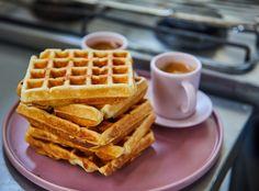 Sütőporos gofri, amit nem tudtok elrontani Cooking Cake, Waffles, Breakfast, Street, Food, Instagram, Kitchen, Baking, Breakfast Cafe