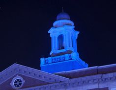 Wallace Hall at Monmouth College - Monmouth, IL Monmouth College, Hall Lighting, Autism Awareness Month, College Fun, Finding A House, Illinois, Life Is Good, Woods, Around The Worlds