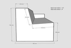 plywood sofa angles