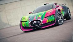 Citroen-Survolt-art-car